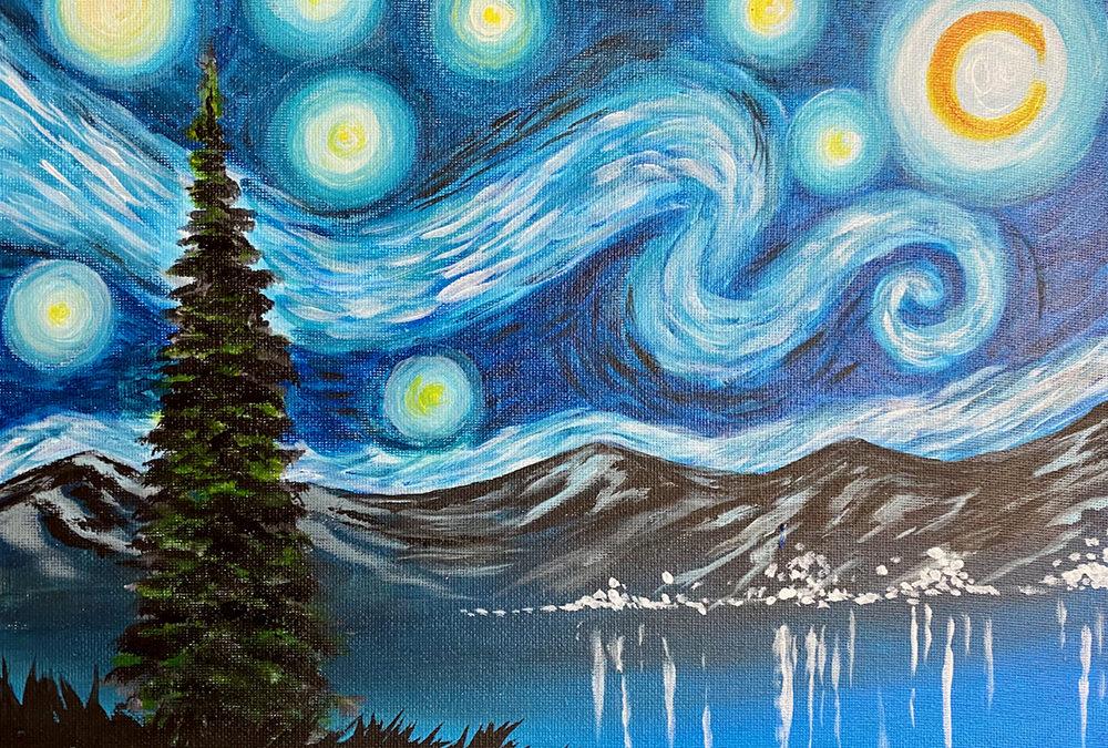 Tahoe Starry Night