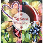 Tiny Canvas Saturday-Candy Canes